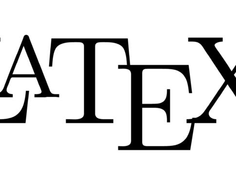 Latex, editor di testo