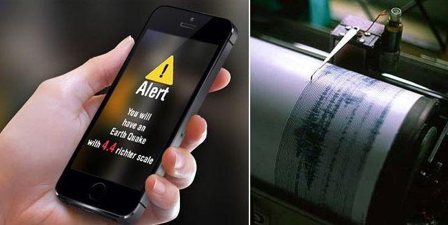 I sistemi eew per anticipare i terremoti