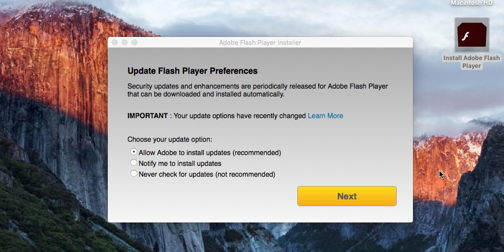 macOS - Malware Flash Player (2)