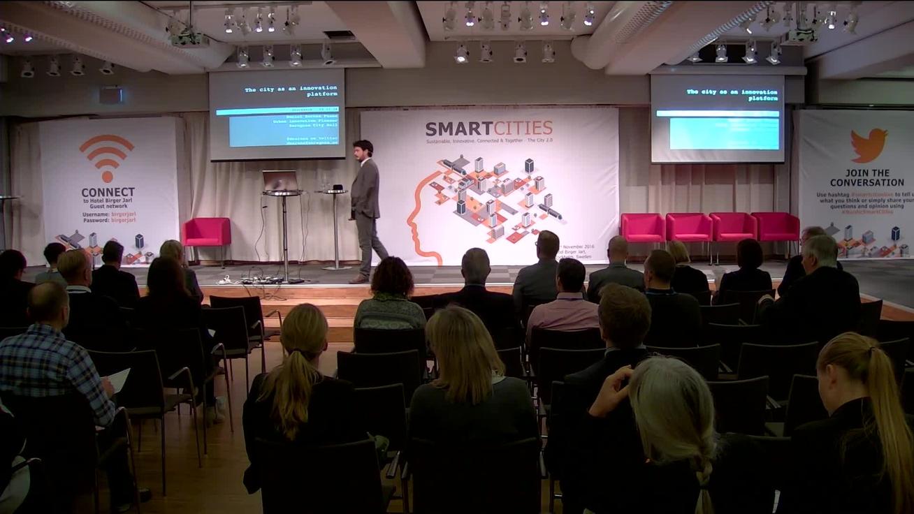Intervista a Daniel Sarasa Funes, Manager del programma Smart City del municipio di Saragozza, Spagna. Sarasa Funes sarà uno speaker di AppShow 2017.