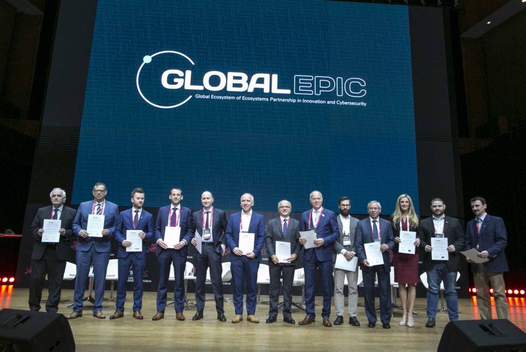 I protagonisti del lancio dell'iniziativa Global EPIC