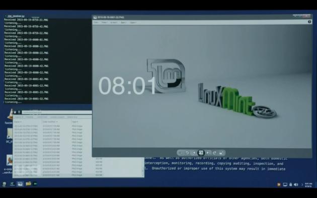 Gli screenshot del computer di Elliot ottenuti dagli attaccanti