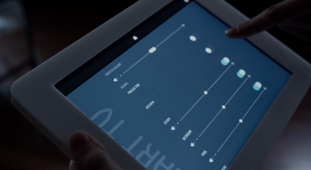 Il tablet per il controllo della smarthome