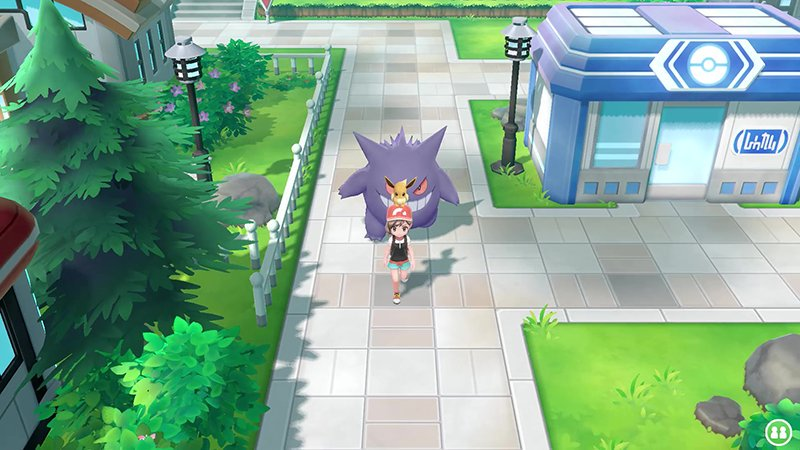 Un'immagine del gioco Pokémon Let's Go