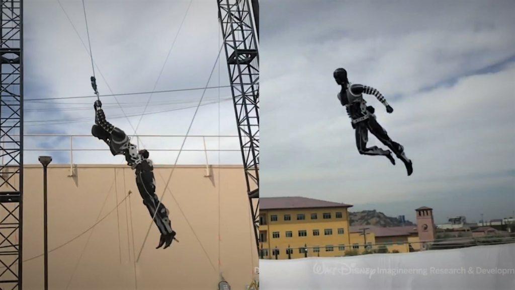 Stuntronics, il robot acrobata della Disney