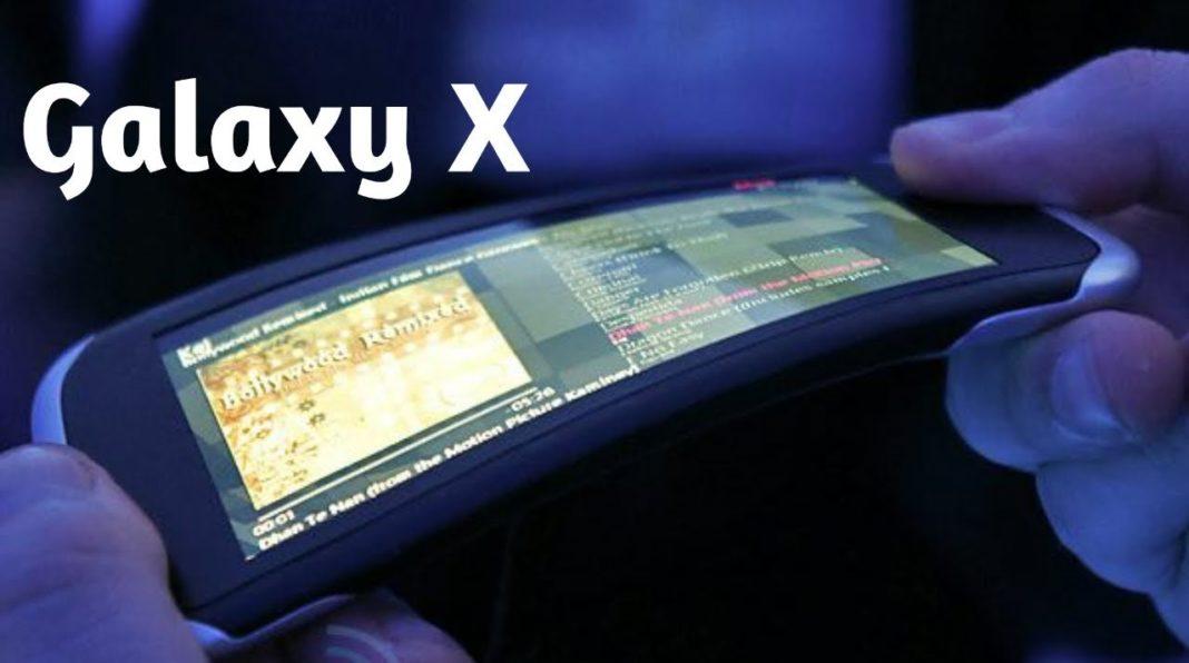 Il Galaxy X, lo smartphone di Samsung con schermo flessibile