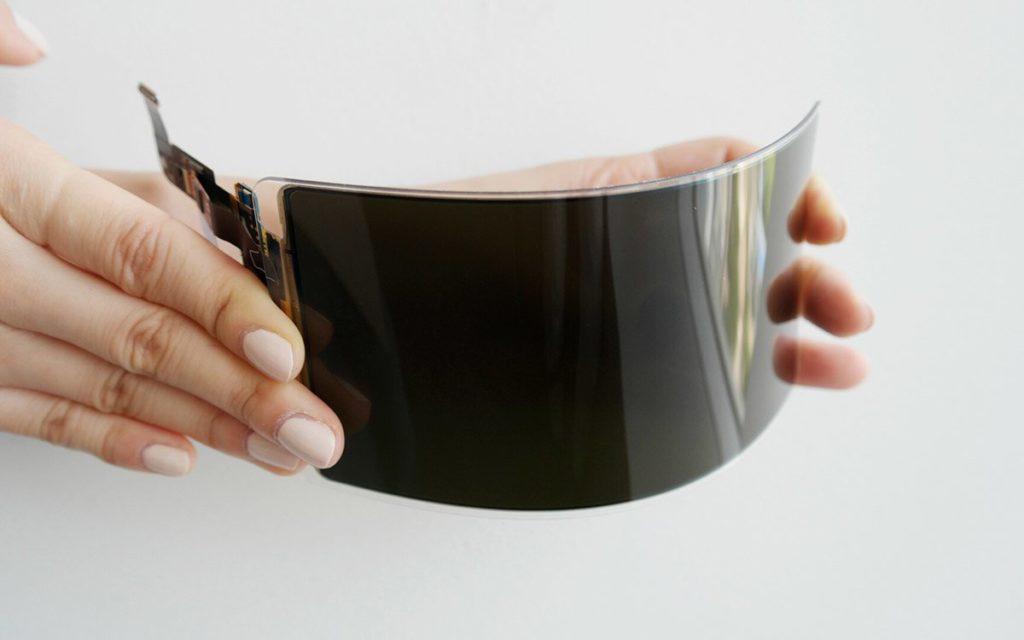 Un esempio di schermo flessibile