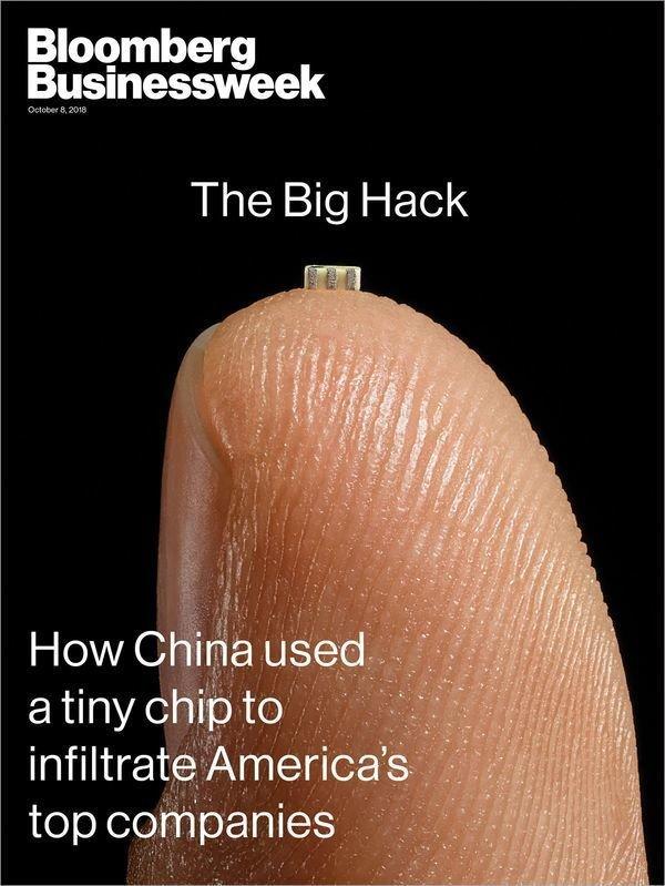 Il microchip cinese in silicio accusato di spionaggio