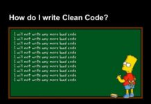 The importance of writing clean code