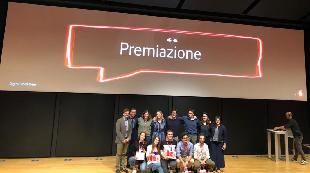 La premiazione dei vincitori dell'Hackathon 5G