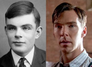 "Benedict Cumberbatch è Alan Turing nel film ""The Imitation Game""."