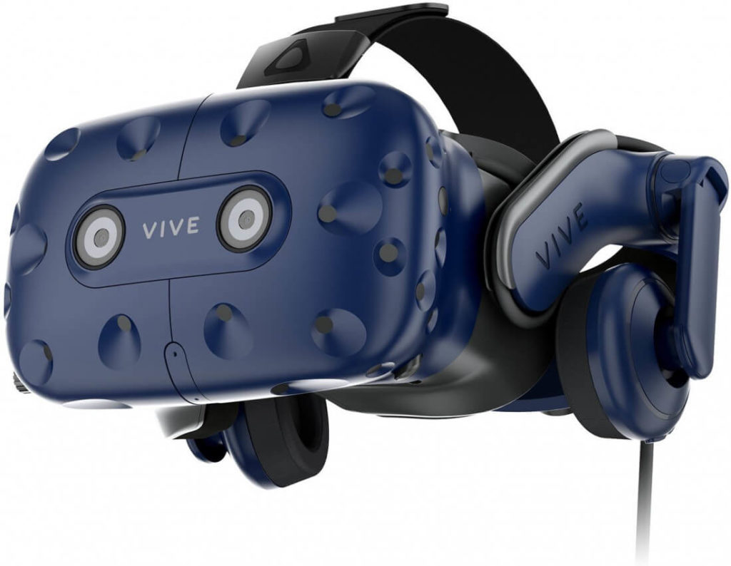 L'headset Vive Pro per la realtà virtuale, tra i più famosi. Credits: techspot.com