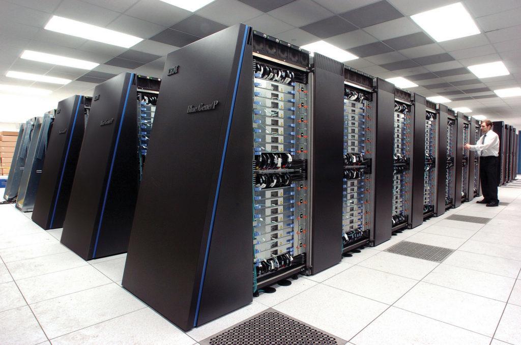 Il supercomputer Blue Gene creato da IBM. Credits: wikipedia.org