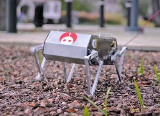 Doggo, il cane robot della Stanford University. Credits: endadget.com