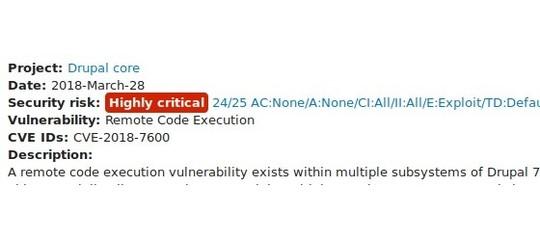 Vulnerabilità nei CMS. Credits: agi.it