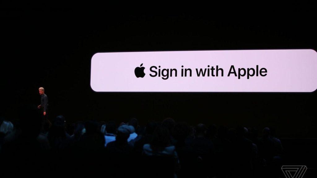 Apple obbligherà gli sviluppatori ad utilizzare la nuova opzione di Sign In. Credits: theverge.com