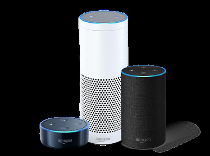 I dispositivi Amazon Alexa. Credits: stoppress.co.nz