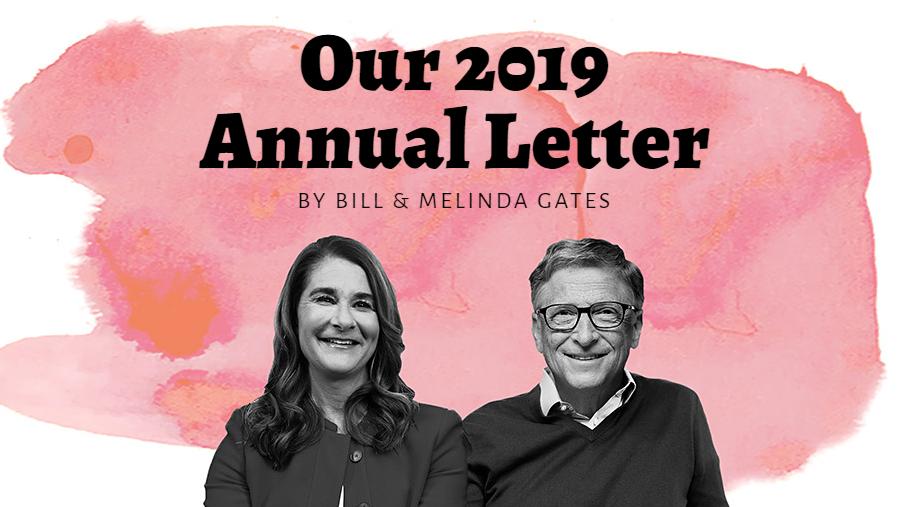 """Bill Gates e sua moglie Melinda. Insieme rilasciano annualmente una lettera di previsioni """"tecnologiche"""". Credits: hometowntv12.ca"""