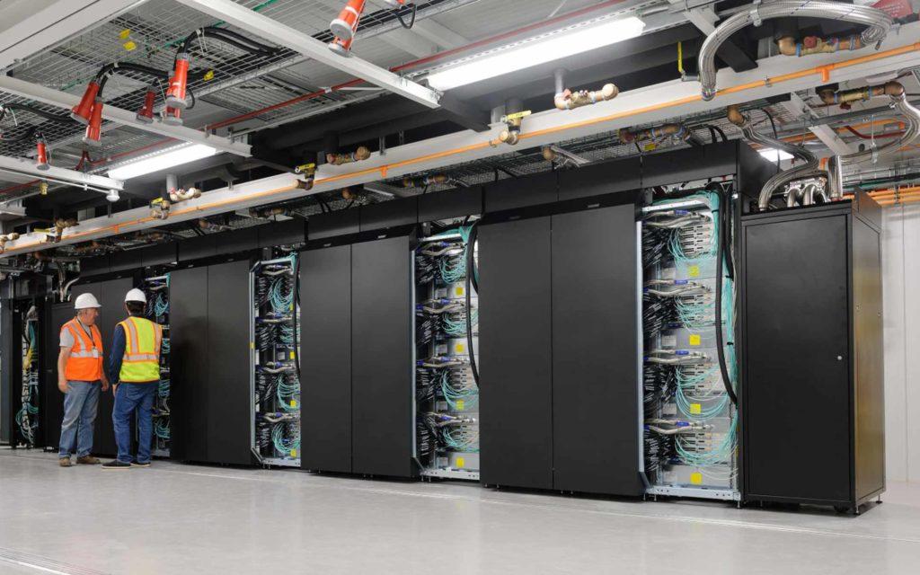 Il supercomputer Aitken. Credits: punto-informatico.it