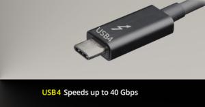 USB 4.0 con connettore Type-C