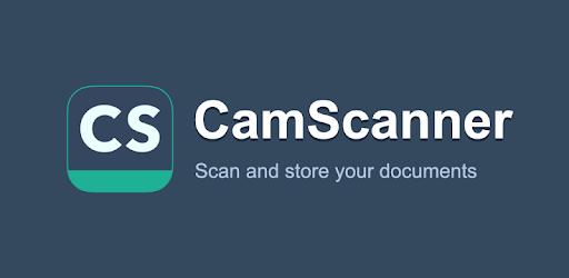 Il logo di CamScanner, l'applicazione per scanning e lettura dei PDF. Credits: play.google.com