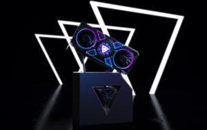 Probabile design della nuova scheda dedicata Intel con tecnologia Xe
