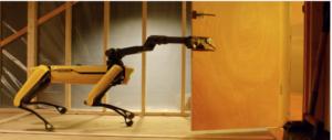 Spot con un braccio robotico esterno