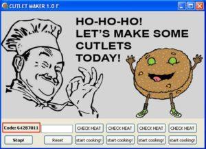 Schermata del malware cutlet maker