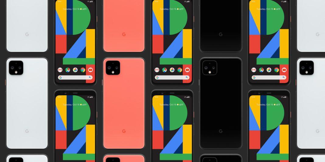 Pixel 4 di Google. Credits: https://9to5mac.com