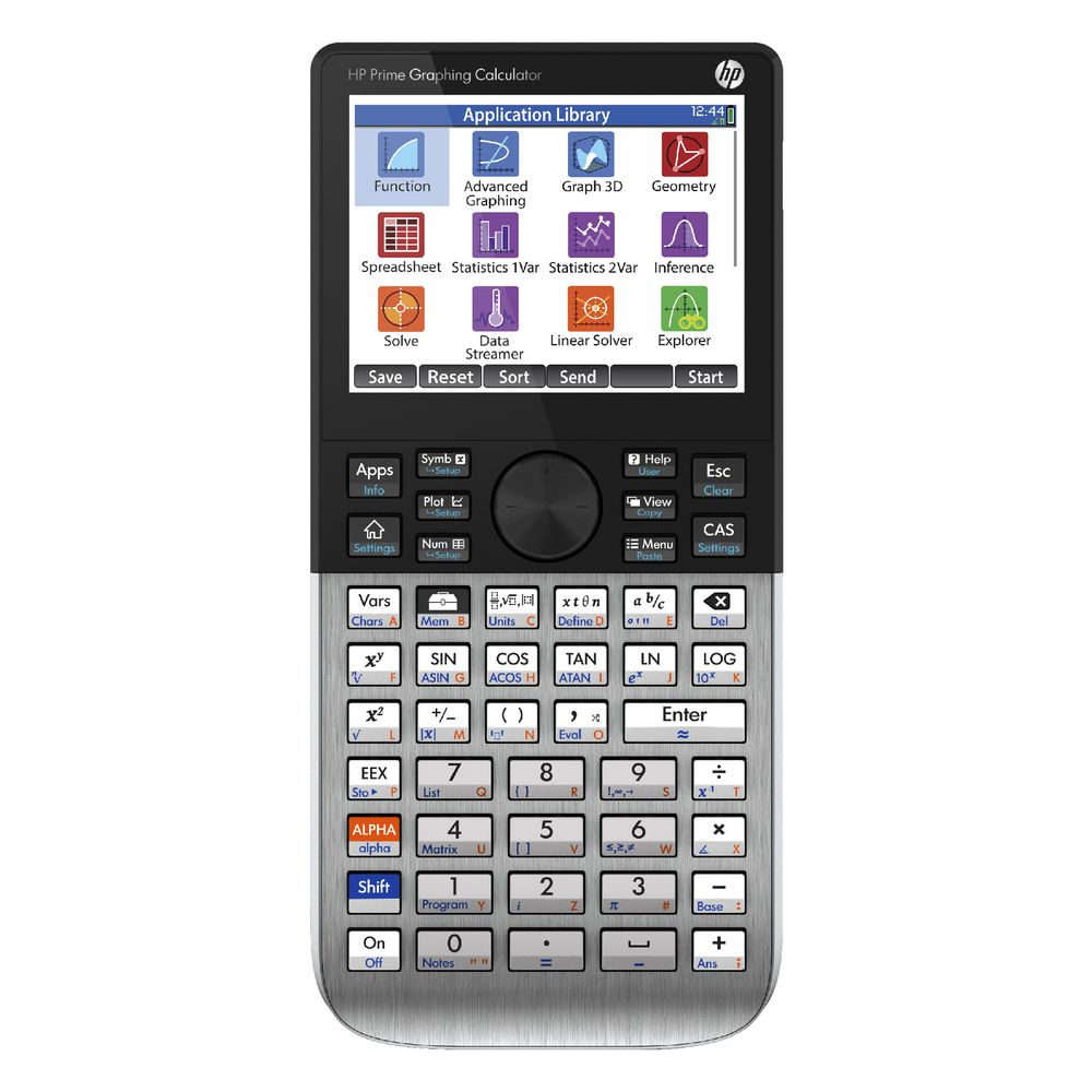 La HP Prime Graphing Calculator. Credits: officeworks.com.au