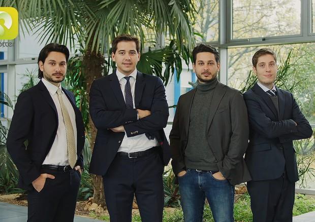 I giovani imprenditori dietro Spotters. Credits: ansa.it