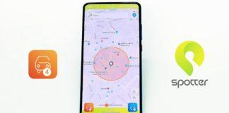 Spotter, l'app per il park sharing