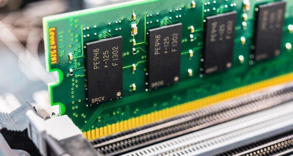 Alcune memorie DRAM Samsung