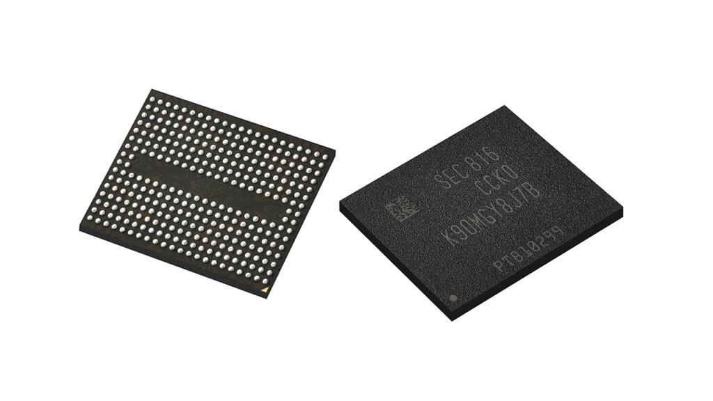 Alcune memorie NAND Samsung