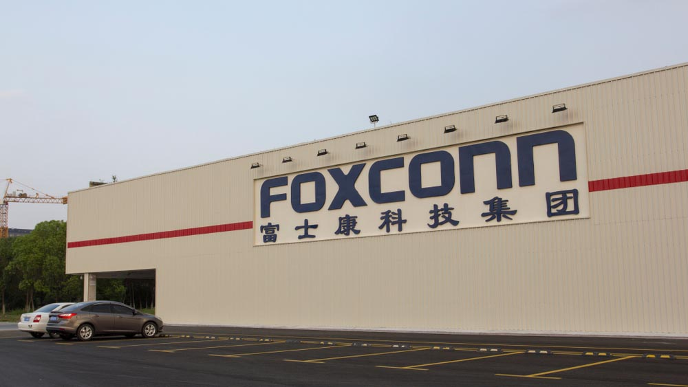 Foxconn, la principale produttrice di iPhone in Cina. Credits: fastweb.it
