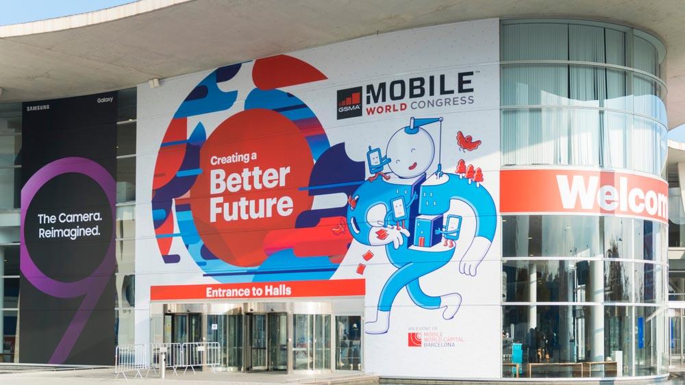 Il mobile world congress è stato annullato a causa del coronavirus. Credits: fastweb.it