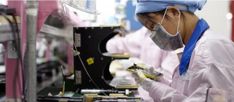 coronavirus e produzione smartphone