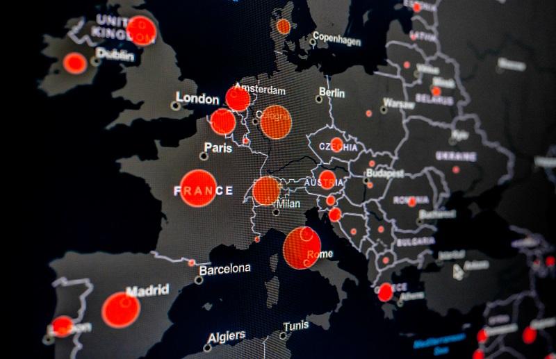 Mappa Coronavirus Malware AZORult
