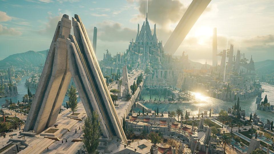 assassin's creed: un meraviglioso panorama dal gioco. Credits: SpazioGames