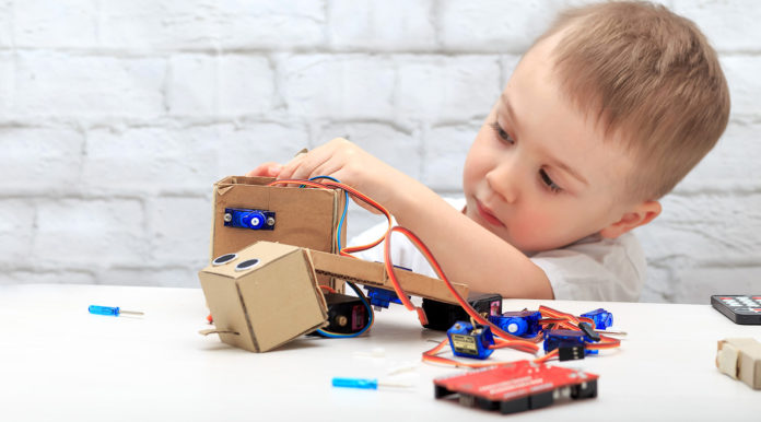 Robot e robotica fai da te per bambini