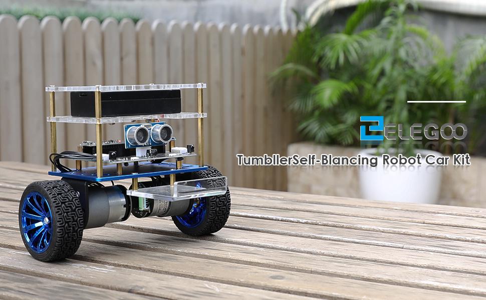 Robot fai da te per bambini - Autobilanciato Tumbller