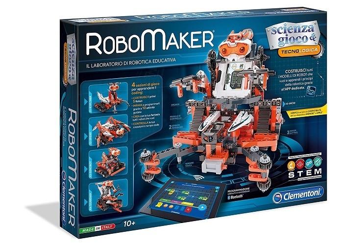 Robot fai da te per bambini - Clementoni RoboMaker