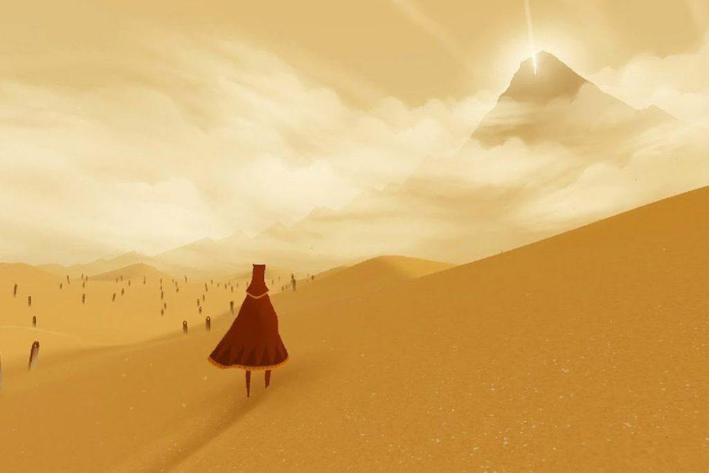 Il protagonista di Journey. Crediys: geekgamer.it