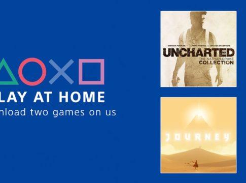 Sony regala Uncharted e Journey su PS4