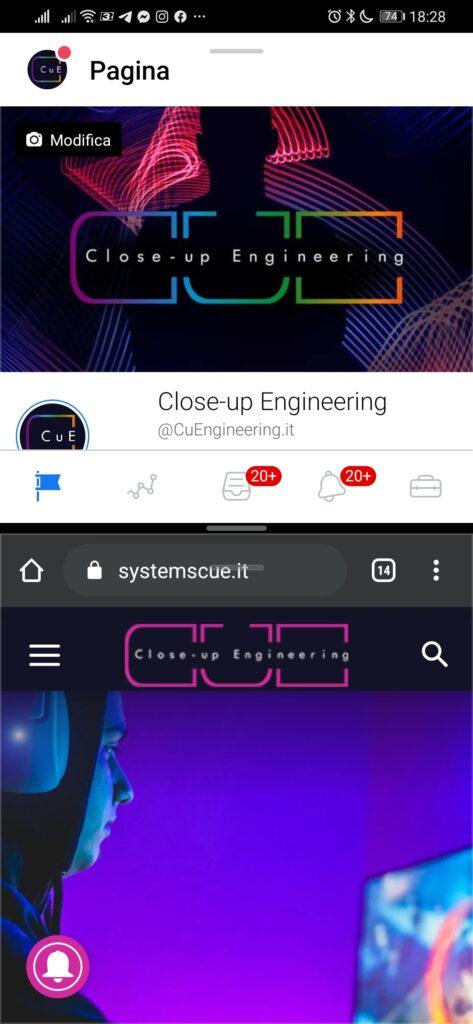 Recensione  Huawei P30 , modalità multischermo