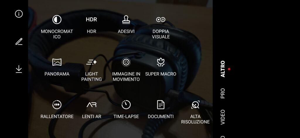 App fotocamera Huawei P30