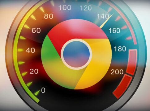 Chrome Speed Badge