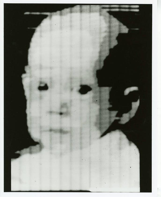 La prima immagine digitale creata da Kirsch. Credits: petapixel.com