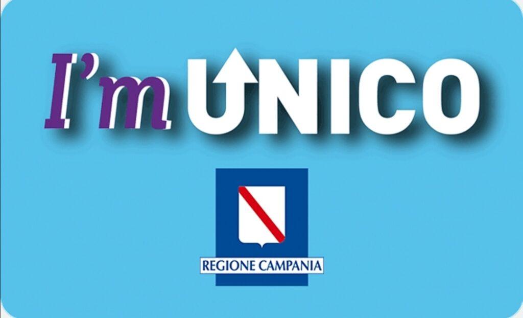 Il logo del sito di Unico Campania, che ha subito un attacco hacker. Credits: Minformo